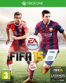 Xherdan Shaqiri ist der Coverstar von FIFA 15 in der Schweiz