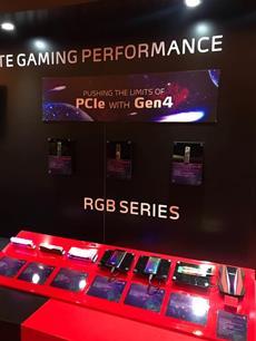 XPG präsentiert auf CES 2020 neue PCIe Gen4 SSD Prototypen